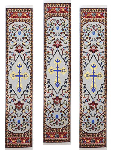 (Alexandra Int'l Set of 3 Religious Gift Cloth Tapestry Bookmark with a Dove Holy Spirit 9 1/8)