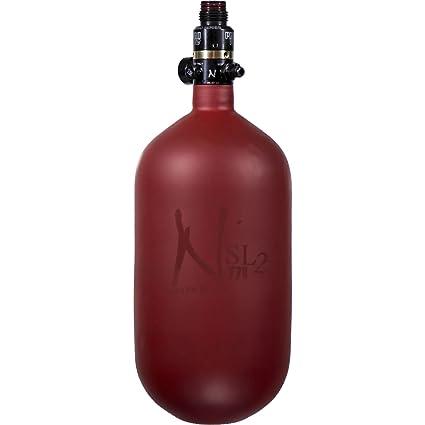 Amazon.com: Ninja Paintball SL2 Fibra de Carbono tanque de ...