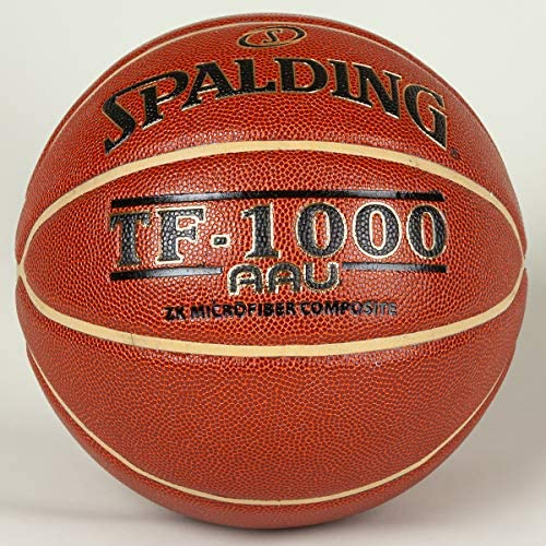 Spalding TF-1000 ZK サイズ7 29.5インチ AAU装飾付き (アマチュアアスレチックユニオン) ディープチャンネルデザイン - ゴールドカラー