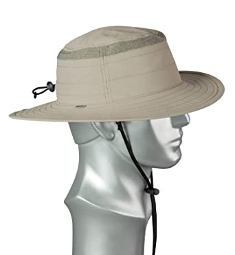 8ed04cfe Broner Mens Supplex Big Brim Hat with Detachable Chincord at Amazon Men's  Clothing store: