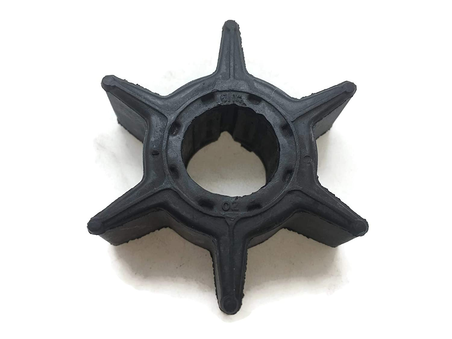 ITACO Water Pump Impeller Yamaha Outboard 6H4-44352-02 6H4-44352-00 6H4-44352-01 676-44352-01 Outboard Motor F 25 30 40 P50 60 HP