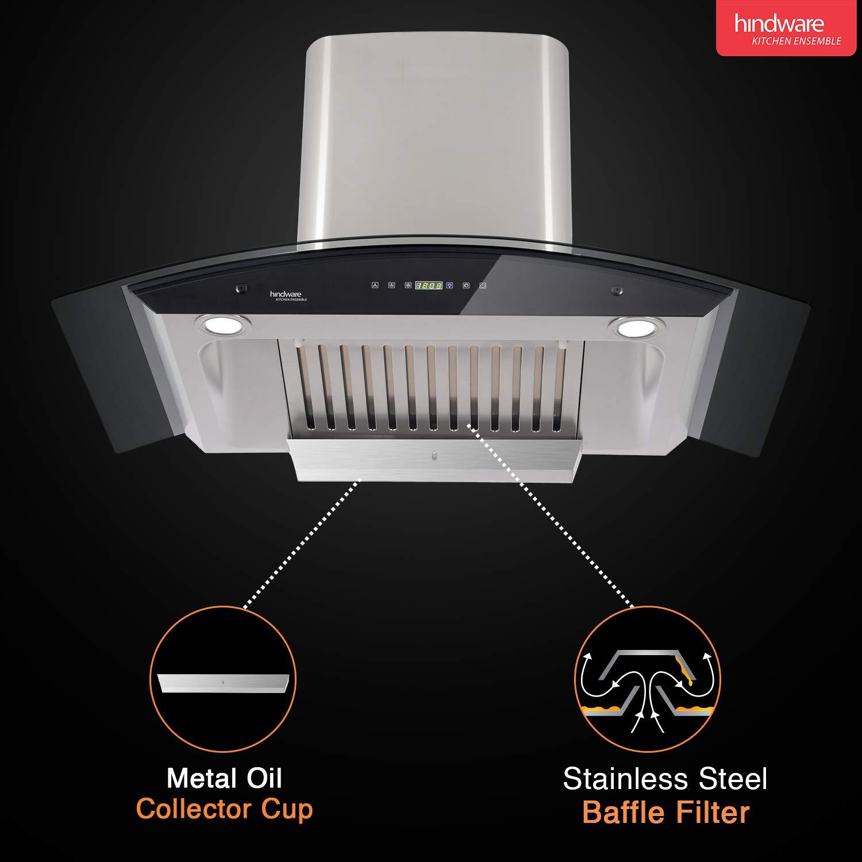 BEST Overall Kitchen Chimney- Hindware Nevio 90 1200 Auto Clean Chimney Review 2021