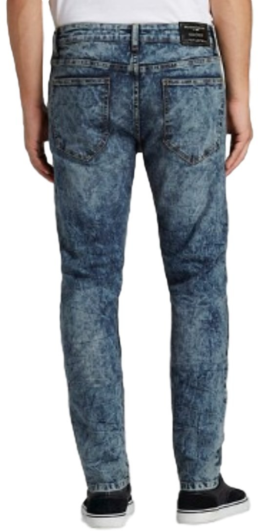 Modern Threads by Well Versed Men's Skinny Fit Jeans (28X30, Indigo Acid) by Modern Threads by Well Versed (Image #3)