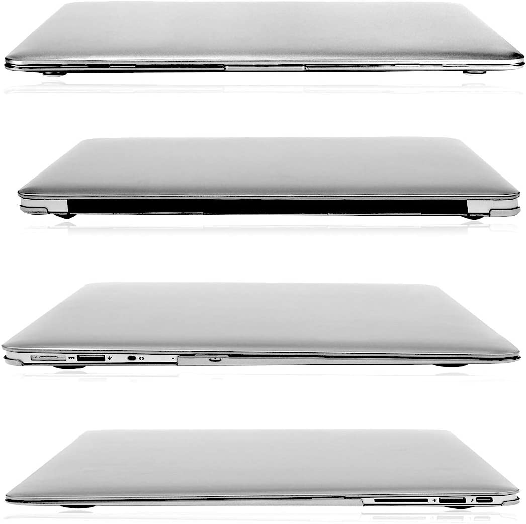 """FINDING CASE Apple Macbook/Air/Case 11-inch A 1370 A 1465,BUNDLE 3 IN 1Rubberized Mate Hard Shell Case with Keyboard Skin and Laptop Sleeve Felt Bag for 11 inch//11.6/"""" MacBook Air Rainbow"""