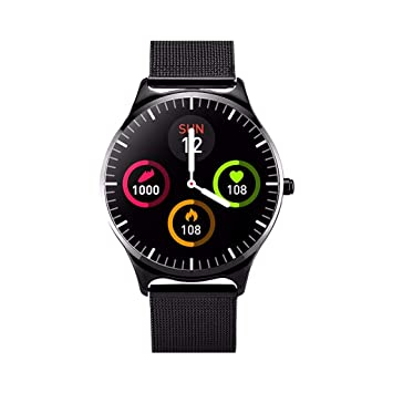 Amazon.com : vmree Women CJ69 Smartwatches with Round Color ...