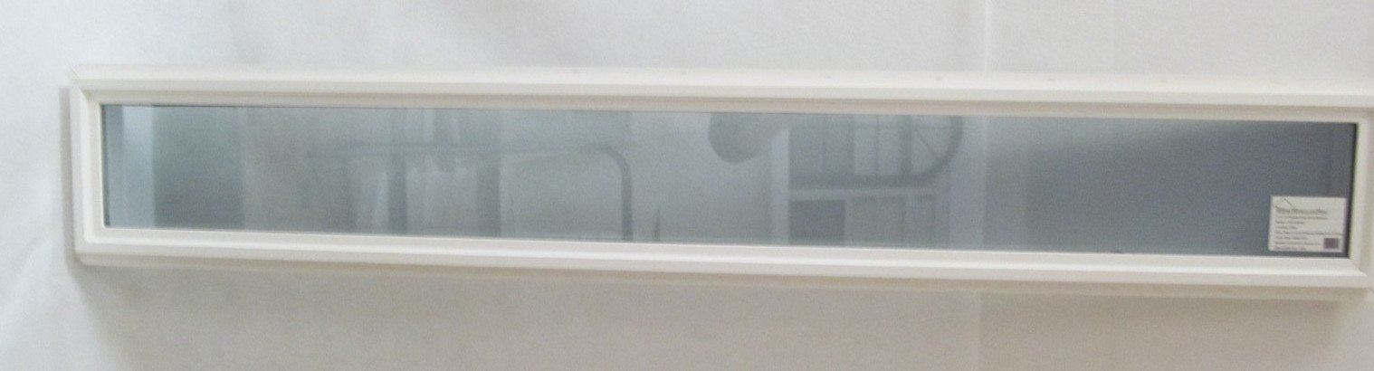 Transom Window 10'' x 72'' Double Pane Low E Tempered Glass