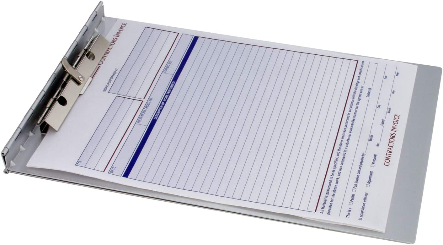 Saunders Recycled Aluminum Sheet Holder with Privacy Cover, Letter Size, 8.5 x 12-Inches, 1 Sheet Holder (13031) : Aluminum Clipboard : Office Products