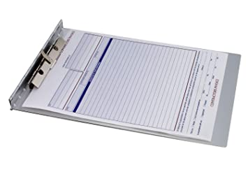 Saunders Recycled Aluminium Sheet Holder with Privacy Cover, Letter ...