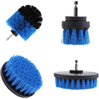 Blesiya 4 Piece Power Scrubber Drill Brush Attachment Set for Cleaning - All Purpose Drill Scrub Brushes for Grout…