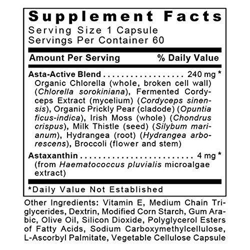 Asta-Complete-FX (2 Bottles - 120 Vcaps) by Premier Research Labs Antioxidant Astaxanthin
