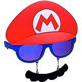 ea50d52e91f2 Costume Sunglasses Nintendo Mario Mustache Sun-Staches Party Favors UV400