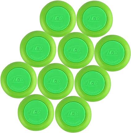 Green BOROLA 30Pcs Nerf refill Discs Bullet for Nerf Vortex Blaster Praxis Nitron Vigilon Proton Ammo