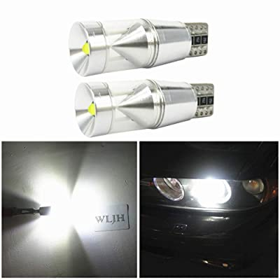 WLJH 2X CANBUS Error Free T10 194 LED Light Cree Chip LED Parking Lights Sidelight for Mercedes Benz W202 W220 W204 W203 W210 W124 W211 W222 W204 W164: Automotive