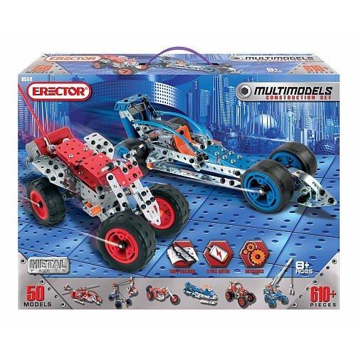 Erector Multimodels Construction Set - 50 Models by Erector