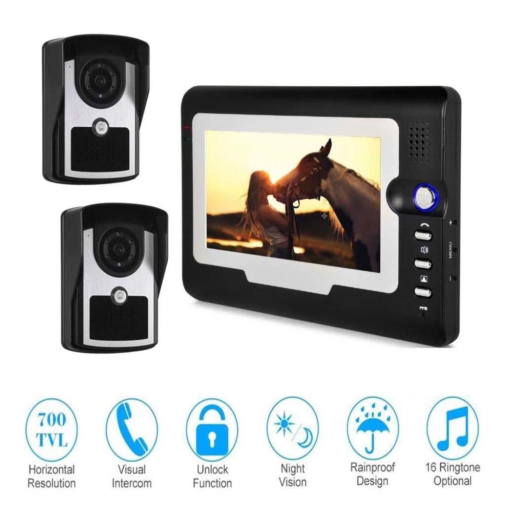 品質検査済 ビデオカメラドアベル7インチ有線インターホンドアベルアクセス制御システム(家族用) B07R3ZJTT2 B07R3ZJTT2, DailyBijou:2ad82377 --- dou13magadan.ru