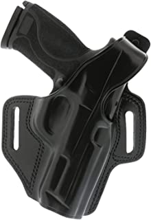 product image for Galco Fletch High Ride Belt Holster Compatible with Glock 19, 23, 32, RH, Black - FL226B