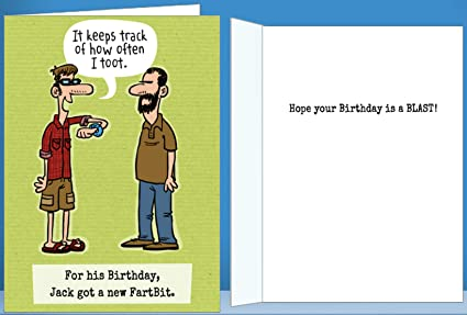 Amazon Birthday Card For Him Funny Greeting