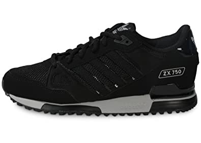 3943397335514 Adidas ZX 750 Black Onix Black Black Size  7  Amazon.co.uk  Shoes   Bags