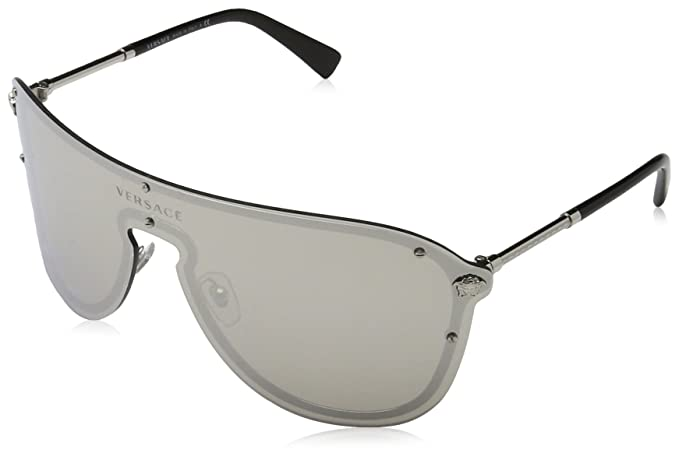 LENTES VERSACE FRENERGY VISOR PLATA 0VE2180 10006G  Amazon.com.mx ... 6f136acca943