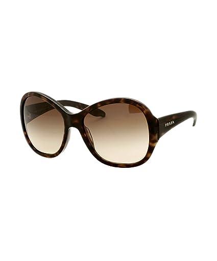 Amazon.com: Prada anteojos de sol spr20l Color 2 AU6S1 ...