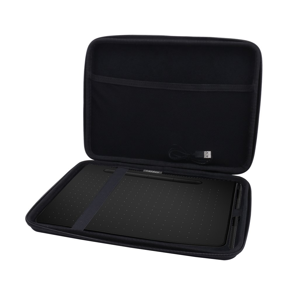 Hard Case for Wacom Intuos Medium Drawing Tablet fits Model # CTL6100 by Aenllosi