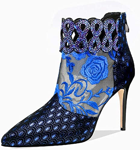 Women's Rose Summer Boots, Boots, Lace