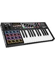 M-Audio Code 25 - Controlador teclado MIDI USB con 25 teclas, 16 pads