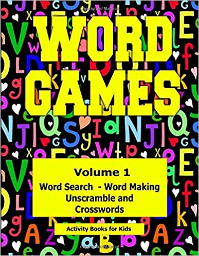 Word Games: Volume 1 With Word Search, Word Making,