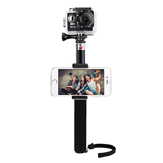 45 opinioni per Selfie Bastone Portatile Monopiede VicTsing VideoCamera Supporto Regolabile