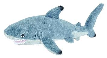 Amazon Com Wild Republic Black Tipped Shark Plush Stuffed Animal
