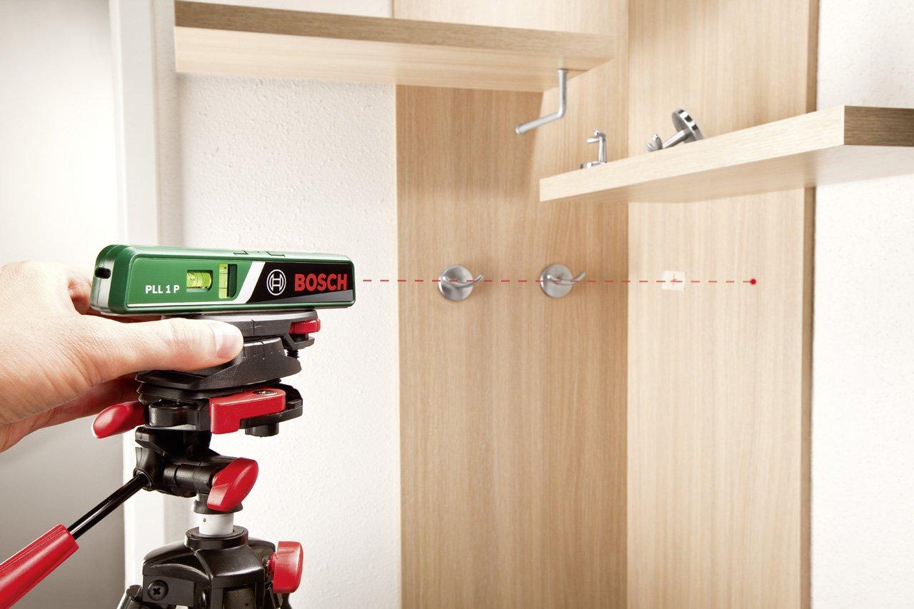 Bosch laser wasserwaage pll 1 p arbeitsbereich linienlaser 5 m