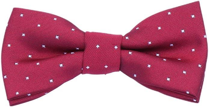 NUOBESTY Pajarita Accesorio de Tela Corbatas Corbata Traje de ...