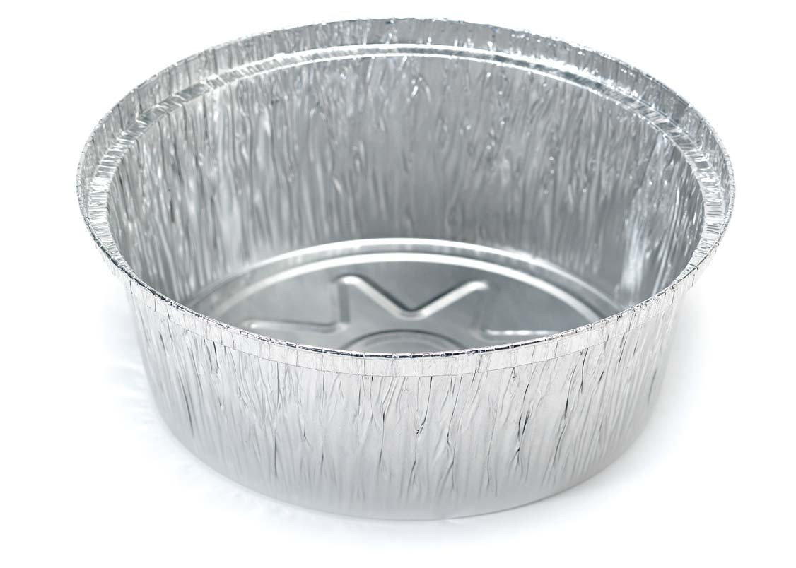 Mical Bandeja redonda de aluminio 205 x 55 mm pase al horno - 50 ...