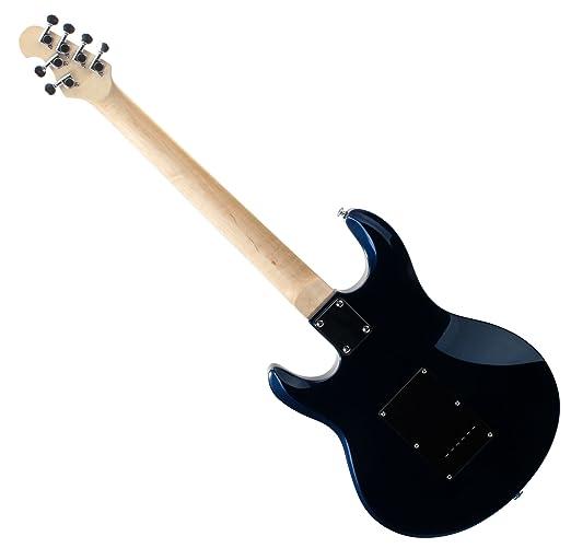 Rocktile MM250-MB Pro - Guitarra eléctrica, color azul metálico: Amazon.es: Instrumentos musicales