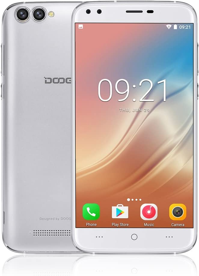 LESHP DOOGEE-X30 Smartphone Libre 3G, 5.5 Pulgadas (Android 7.0 ...