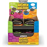 Learning Resources Recordable Answer Buzzers, Set of 12