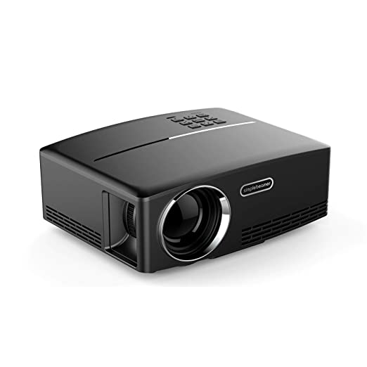 Mini proyector, Soporte de Video portátil 1080 P Full HD, Cine en ...
