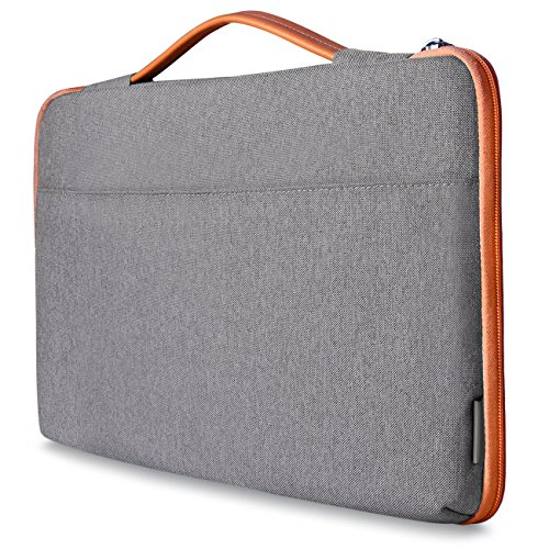 Price comparison product image Inateck Shockproof Laptop Sleeve Case Briefcase Spill Resistant for 13-13.3 Inch Laptops,  Notebooks,  Ultrabooks,  Netbooks,  with Extra Storage Space