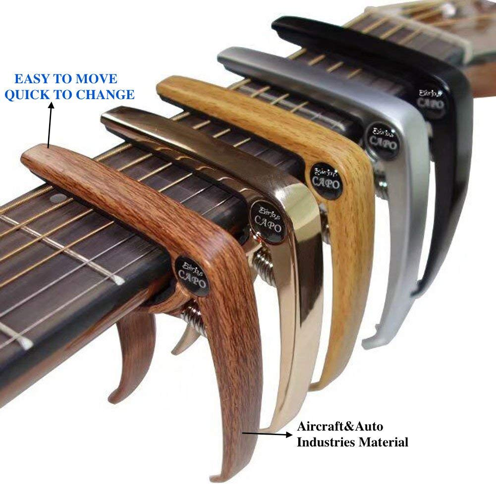 Kit para Principiantes con Afinador Digital Ukelele Soprano de Madera 54cm Artesan/ía de Alta Calidad P/úa y Cuerda de Repuesto Pa/ño de Pulido Manual Cancionero Pack de Inicio Ukulele de EVERJOYS