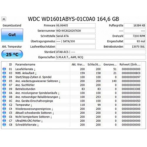 Western Digital HD Caviar 160GB, SATA II - Disco Duro (SATA ...