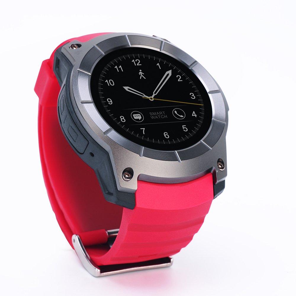 Amazon.com: New Smart Watch Color Screen SIM Card Slot TF ...