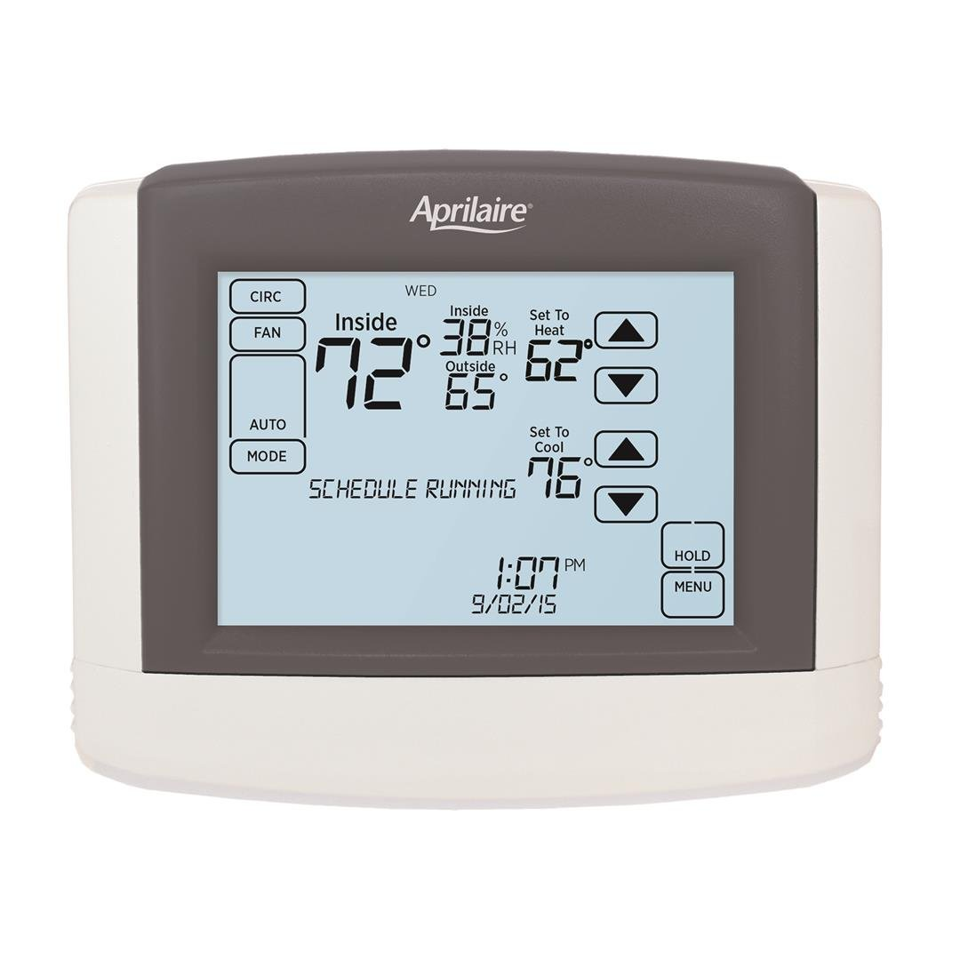 Aprilaire 8600 Programmable Touchscreen Thermostat