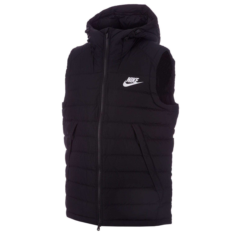 quality products super quality clearance prices Nike pour Homme pour Homme en Duvet pour Femme en Noir/Blanc ...