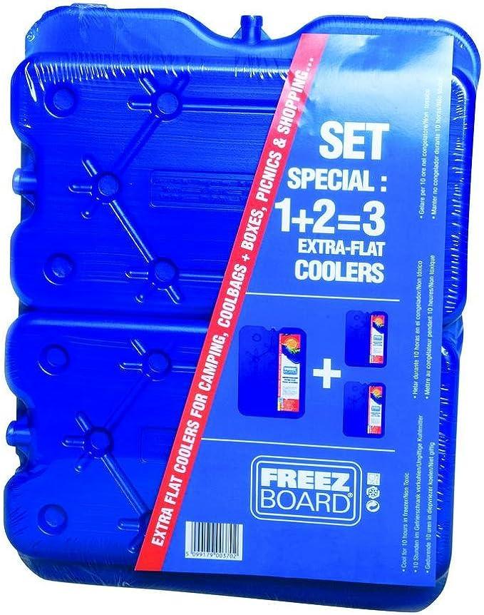 Connabride Acumulador de 800 G + 2 x 400 G plana freeze refrigeración placa: Amazon.es: Coche y moto
