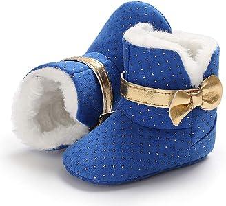 fb51648860e K-youth Botas de Nieve Niñas Botas Niña Invierno Caliente Botines Zapatos  De Algodón Zapatillas. Atrás. Pulsa ...
