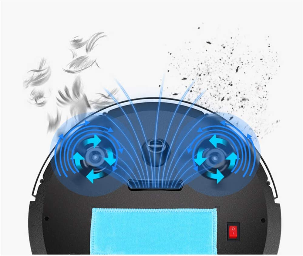 SHUCHEN Machine Multifonctionnelle Nettoyage Domestique Automatique du Robot De Balayage Tactile Aspirateur Intelligente,1 1