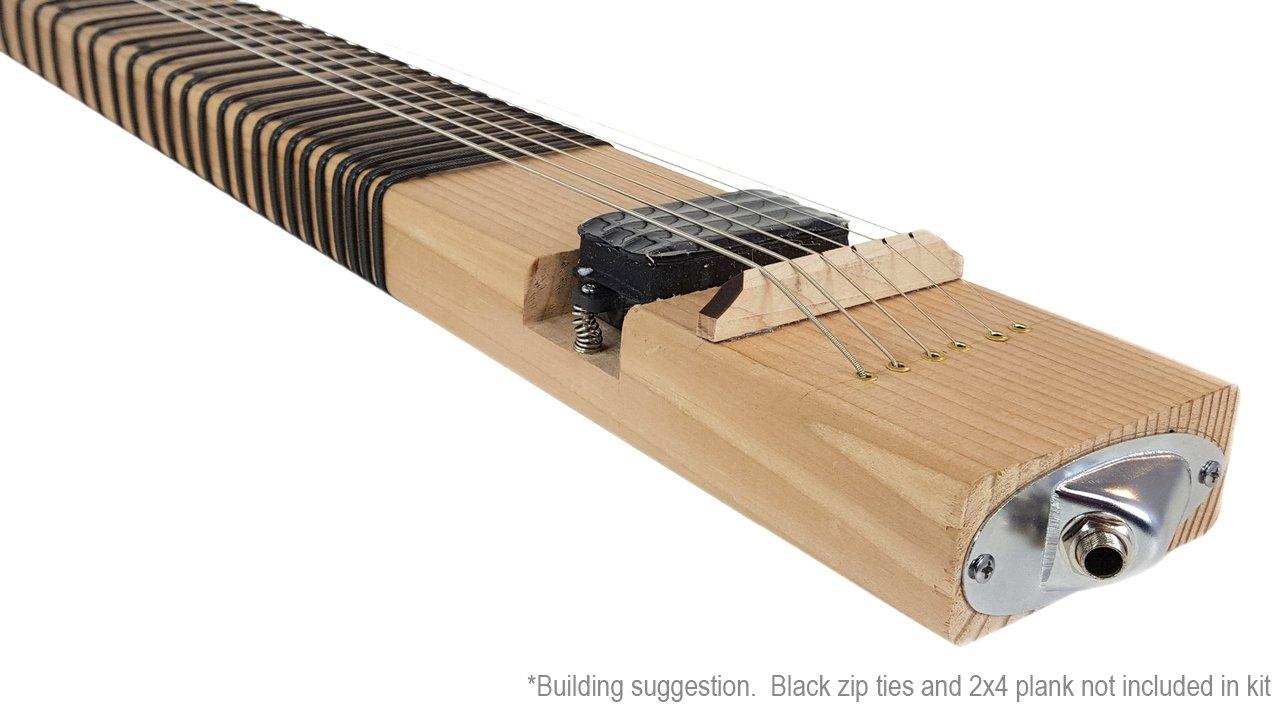 2 x 4 Kit de guitarra de regazo - el Kit de guitarra Slide - Le suministro el 2 x 4.: Amazon.es: Instrumentos musicales