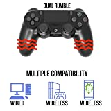 PS4 Controller Wireless Bluetooth with USB Cable