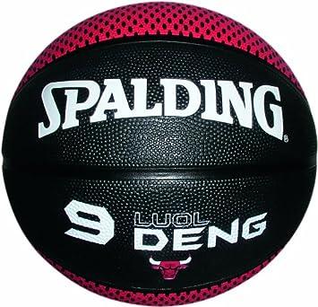 Spalding 73-863Z Luol Deng - Balón de baloncesto (talla 7) nocolor ...
