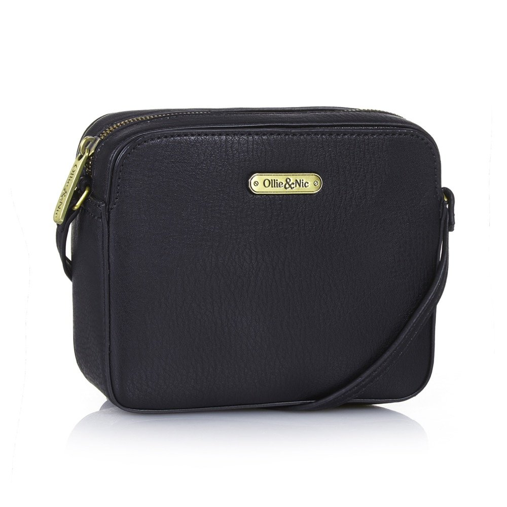 880e0843099 Ollie & Nic - Patsy Cross Body Bag - Black: Amazon.co.uk: Shoes & Bags